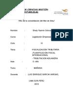 Informe Del Congreso