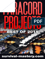 Paracord Projects (Best of 2015)