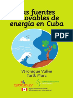 Las Fuentes Renovables de Energia en Cuba
