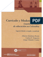 2003 Curriculo y Modernizacion