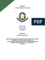 Referat Penyakit Parasit Pada Kulit (Febriana Venita 10-092)