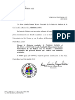CERTIFICACION JS UPR 122 2009-2010