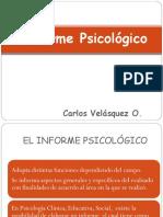 Informe Psicologico Forense Especialidad