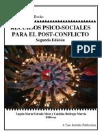 Recursos Psico-sociales Para El Post-conflicto -2nd Ed f