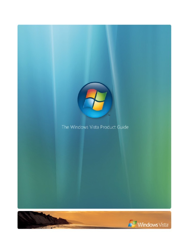 60mb Windows Vista Product Guide Microsoft Database Mail Xps Security Risk