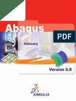 Glossary Abaqus