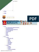 Calendar _ FC Barcelona