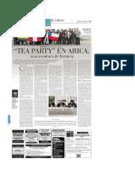 Nota a Tea Party Cinosargo en Artes y Letras