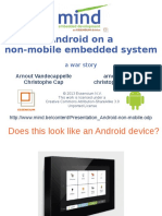Android Non Mobile