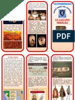 Cultura Paracas Triptico