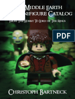 Preview of The Middle Earth LEGO Minifigure Catalog - From The Hobbit To The Lord of The Rings