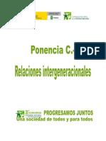 Ponencia C - Relaciones Intergeneracionales