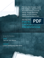 Five Rules for Presentation.pptx