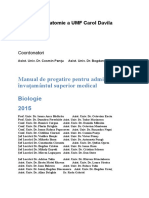 268733827 Grila Admitere UMF Carol Davila Biologie 2015