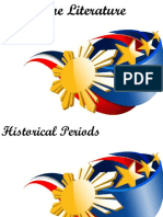 History of Philippine Literature