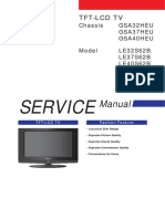 samsung le40s62b le37s62b le32s62b lcd tv service manual