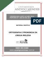 ORTOGRAFIA E PRONÚNCIA DA LÍNGUA INGLESA .pdf