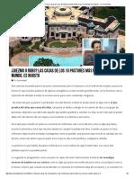 ¿Diezmo O Robo_ Las Casas de Los 10 Pastores Más Millonarios Del Mundo, Es Injusto - Tu Curiosidad
