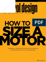 CD1606 How to Size a Motor