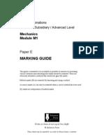 E ms Edexcel Mechanics-1 6677 Solomen Papers