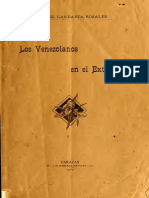 Venezolanos en el Exterior Siglo XIX