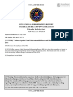 FOUO FBI SIR Planned Protests and Violence Against LE Louisiana 8 July....PDF