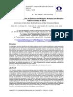 Contribuição da Análise de Edifícios de Múltiplos Andares com Modelos Tridimensionais de Barra