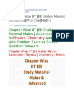 JEE NOTES