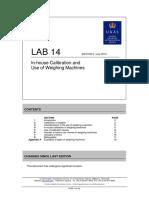 LAB 14 - Edition 5 - July 2015