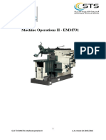 Book G12 T3 EMM731 Machine Operation II