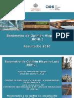Barómetro de Opinión Hispano-Luso  2010 (Presentación)