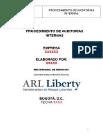 Procedimiento Auditoria Ris 2015