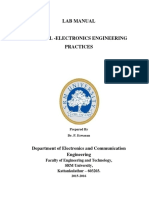 15EC102L Electronics Engineering Practices