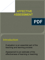 4.Affective Assessment