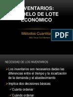 Inventarios-EOQ