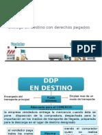 Trabajo de Incoterms DDP