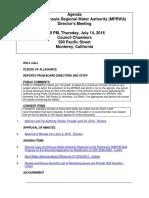 MPRWA Agenda Packet 07-14-16