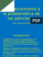 Clase Adicciones 2011