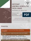 anemia hemolitik pada anak