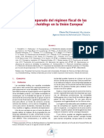 Análisis Comparado Del Régimen Fiscal de Las Entidades Holdings en La Unión Europea - Fernández Villoslada