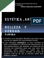 Estética, Arte, Belleza y Verdad