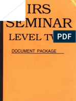 IRS Seminar Level 2, Form #12.032