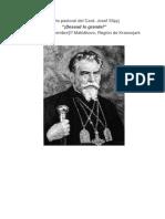 Carta Pastoral Del Siervo de Dios Card. Josef Slipyj