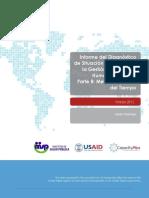 Informe gestión recursos humanos en Salud