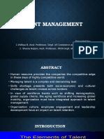 Talent Management Ppt