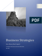 Business Strategies Report
