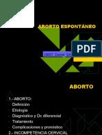 ABORTO - DEFINICION