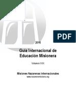 2016 Guia Internacional de Educacion Misionera