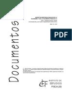Aspectos Metodológicos de La Economía y La Hacienda Pública - Romero Jordán