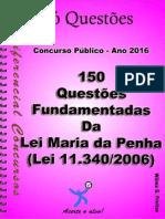 504_LEI MARIA DA PENHA - LEI Nº 11.340_2006-Apostila Amostra Questoes